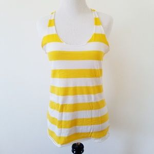 BUNDLE ONLY! Forever 21 Yellow & White Tank